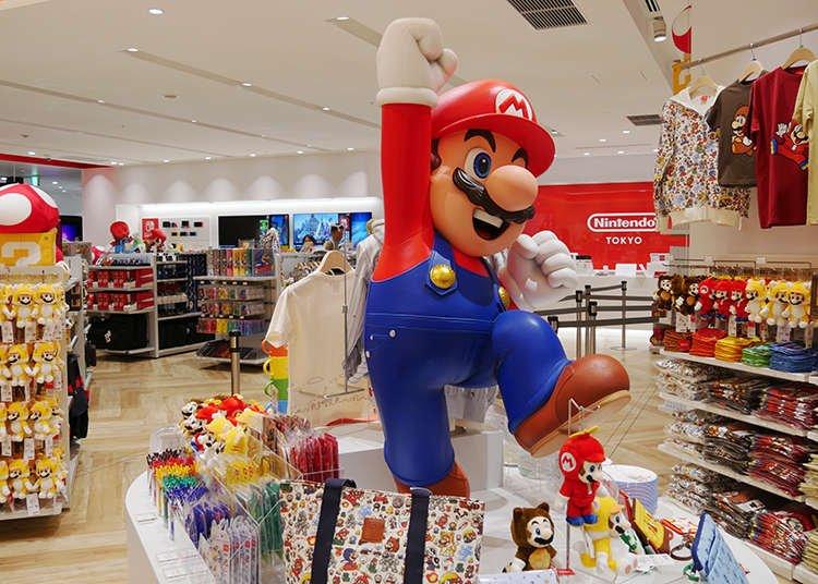 Minha experiência na loja oficial Nintendo Tokyo (com vídeo)