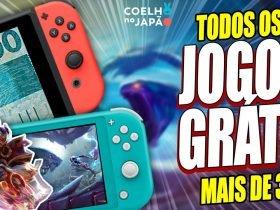 33 JOGOS GRATUITOS de Nintendo Switch ❘ Guia Completo