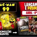 Lançamentos para Nintendo Switch de 19 a 25 de Abril