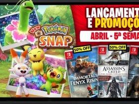 Lançamentos para Nintendo Switch de 26 de Abril a 2 de Maio