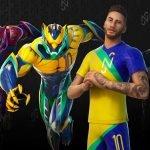 Fortnite apresenta as skins de Neymar Jr. do passe de temporada