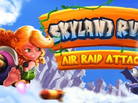 Skyland Rush: Air Raid Attack: shoot'em up cartunesco chega ao Switch em Abril