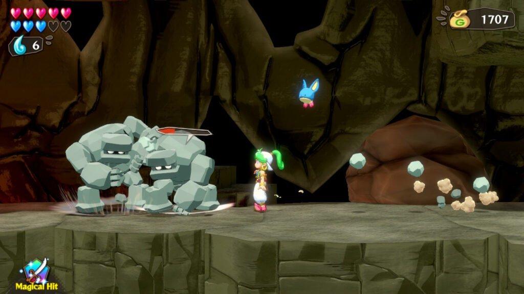 Wonder Boy: Asha in Monster World - Nas nuvens com o novo velho clássico