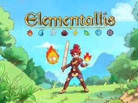Elementallis: aventura inspirada em Zelda 2D chega ao Switch em 2022