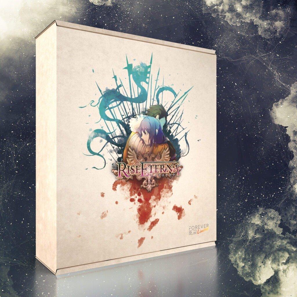 Rise Eterna ganha edição de colecionador pela Forever Limited