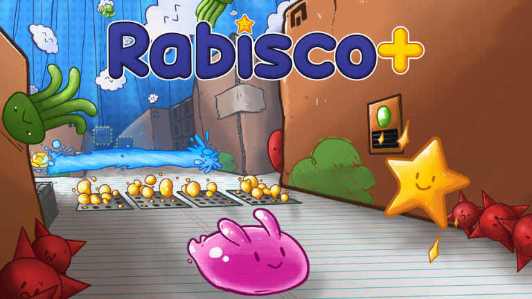 Rabisco+: puzzle plataforma brasileiro desafiador chega ao Switch em Maio