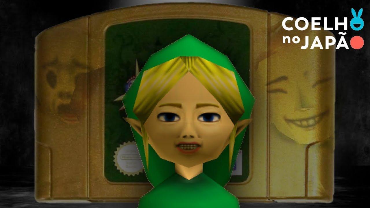 A misteriosa história por trás da fita assombrada de Zelda Majora's Mask #CoelhoMistérios