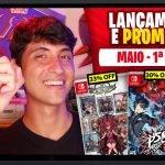 Lançamentos para Nintendo Switch de 3 a 9 de Maio