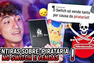 RESPONDE NINTENDO #9 - Desmentindo o que falam da pirataria no Nintendo Switch e vendas do console
