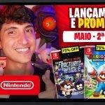 Lançamentos para Nintendo Switch de 10 a 16 de Maio