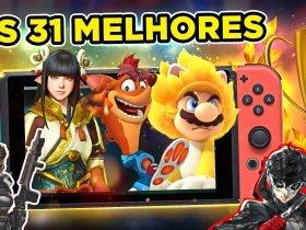 Top 31 - Os Melhores Jogos do Nintendo Switch do 1ºTrimestre