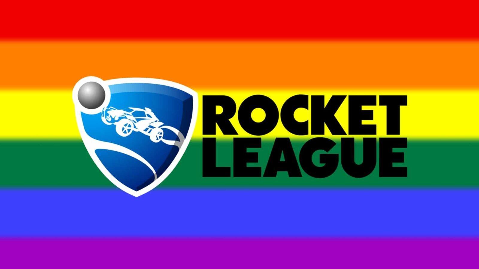 Rocket League celebra o mês do Orgulho LGBTQ+ com conteúdos exclusivos