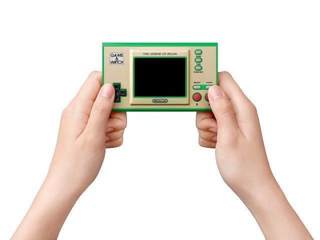 Mais detalhes sobre o Game & Watch: The Legend of Zelda