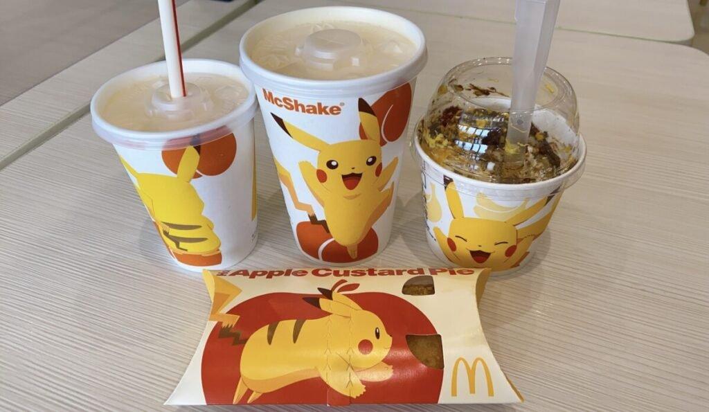 Japão: Sobremesas com tema do Pikachu chegam ao McDonald's