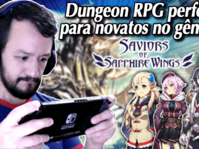 Saviors of Sapphire Wings - O Dungeon RPG perfeito para novatos do gênero