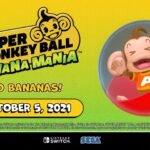 Super Monkey Ball: Banana Mania é oficialmente anunciado para o Nintendo Switch