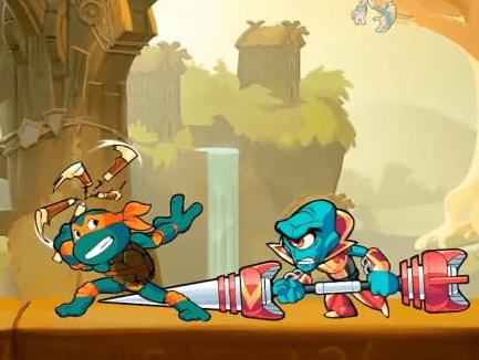 Colaboração Brawlhalla e Tartarugas Ninjas anunciado na E3 2021