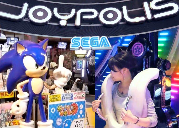SEGA pode trazer filiais de seu parque de diversões para o ocidente