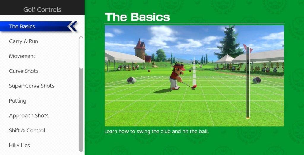 """Mario Golf: Super Rush - A corrida para colocar mais rapidamente a bolinha no """"buraco"""""""