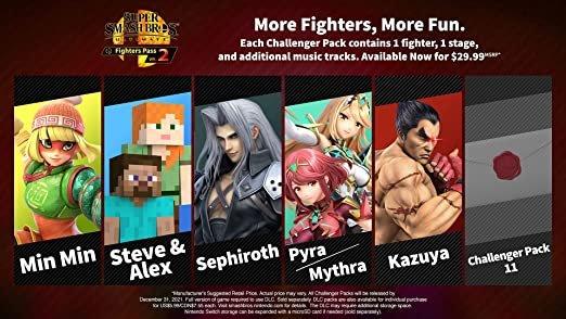 Próximo lutador DLC de Super Smash Bros. Ultimate será o ultimo, afirma Sakurai