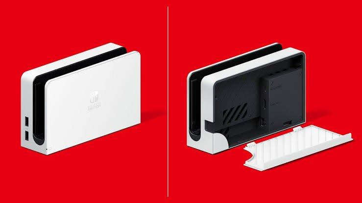 Nova dock do Nintendo Switch OLED será vendida separadamente e funciona para Switch anterior
