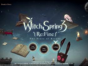 WitchSpring3 Re:Fine - The Story of Eirudy chega ao Switch em agosto