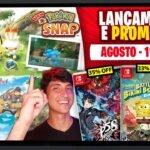 Lançamentos para Nintendo Switch de 2 a 8 de agosto