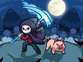 Spindle: aventura com a morte e um porco como personagens anunciada para Switch