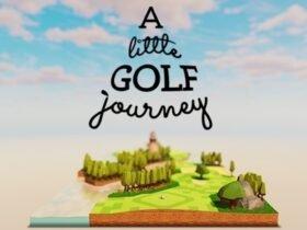 A Little Golf Journey: jogo relaxante de golf chega ao Switch em outubro