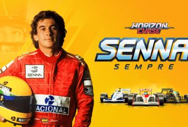 Horizon Chase Turbo lançará expansão em homenagem a Ayrton Senna