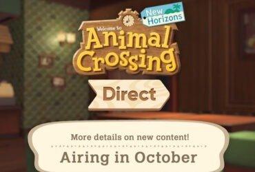 Nintendo Direct: Direct específica para Animal Crossing: New Horizons em outubro e atualizações