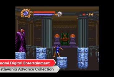 Nintendo Direct: Castlevania Advance Collection disponível para Switch