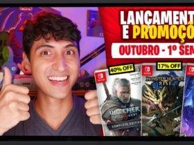 Lançamentos para Nintendo Switch de 27 de setembro a 3 de outubro