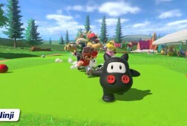 Nintendo Direct: novo conteúdo adicional para Mario Golf: Super Rush já disponível