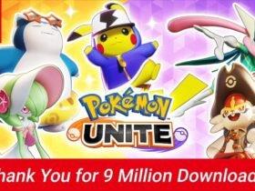 Pokémon Unite ultrapassa a marca de 9 milhões de downloads no Switch, Aeos Tickets serão distribuídos
