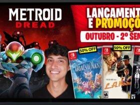 Lançamentos para Nintendo Switch de 4 a 10 de outubro